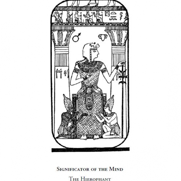 Significator of the Mind - The Hierophant (Arcanum No. V)