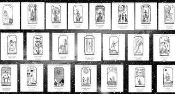 Presentation of Images and Pairings of The Tarot to Help Develop An Archetypical Mind