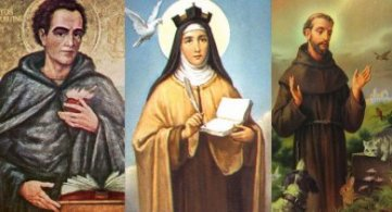 Historical Figures Who Were Harvested into 4th Density 'Positive Path': Saint Augustine/Teresa/Francis
